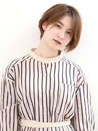 美容室バズヘアーbuzzhair 髪型前髪バッサリショートボブ