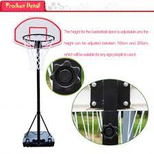 <b>Portable Kid Basketball Stand</b> Maxium Applicable Ball Model 7# HY ...