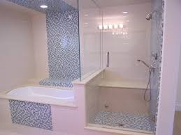 Tiled Bathroom Floors Bathroom Soft Beige Tile Bathroom Wall And Double Small Corner