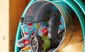 garden hose storage ideas. Hose Storage Garden Stool Gardening Flower And Vegetables Ideas