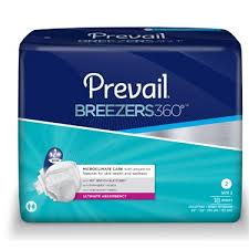 Prevail Breezers 360 Size Chart
