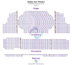 William Kerr Theatre Seating Chart Walter Kerr Theatre Tickets And Walter Kerr Theatre Seating
