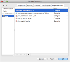 android studio integration sqlcipher