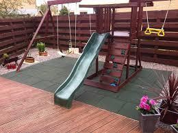 exterior rubber floor tiles uk. dflect rubber playground tiles - interlocking mats- equestrian exterior floor uk