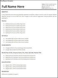 Simple Resume For First Job No Experience Gentileforda Com