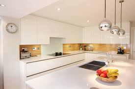 contemporary kitchen white gloss. white gloss kitchen by lwk kitchens london contemporary-kitchen contemporary h