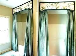 shower curtains with valance curtain bathrooms best ideas about shower curtains with valance and tiebacks shower