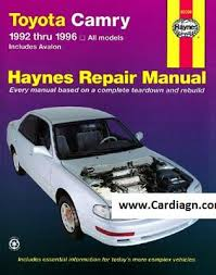 1992 1996 toyota camry avalon haynes repair manual pdf 1992 1996 toyota camry avalon haynes repair manual pdf scr1