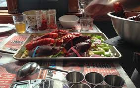consider these lobsters weekends lobster do not have good bones of course as they have collectively and naturally selected an exoskeleton charlotte and i watched jp fight his way through