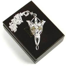 arwen evenstar sterling silver pendant