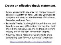 thesis generator compare contrast contextual analysis example thesis generator compare contrast