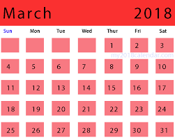 custom calendar templates download custom calendar images for march 2018 design