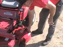 how to fip the deck on a country clipper mower how to fip the deck on a country clipper mower