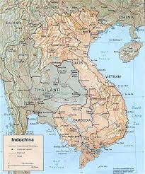 Asian region encompassing cambodia laos vietnam