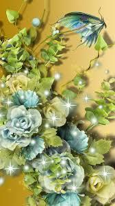 3D Flower Cellphone Wallpaper