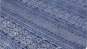 architecture and home captivating cotton dhurrie rugs of blue block print accent area boho rug