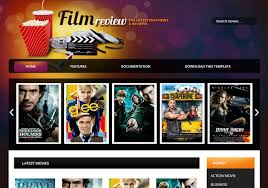 Film Picture Template Film Reviews Movie Blogger Template Blogspot Templates 2018