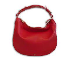 mulberry bright red soft tan leather pembridge hobo shoulder bag