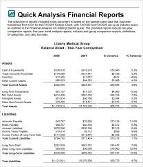 excel financial analysis template financial analysis templates 8 free word excel pdf documents