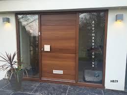 Front Doors Charming Hardwood External Front Door For Solid Wood Contemporary Front Doors Uk