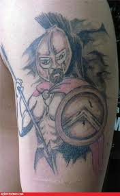 Ugliest Tattoos Sparticus Bad Tattoos Of Horrible Fail