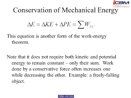 24 conservation of mechanical energy this equation