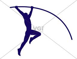 vault gymnastics silhouette. Pole Vault Silhouette Clipart #1 Gymnastics