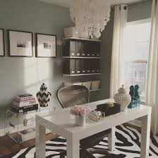 west elm office. Blue Home Office With West Elm Parsons Desk