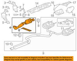 buick gm oem 10 12 lacrosse 3 6l v6 exhaust system front pipe image is loading buick gm oem 10 12 lacrosse 3 6l