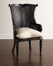french cane chair. Cypress Noir Cane Chairs Neiman Marcus Horchow Pair French Chair