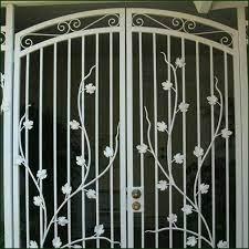gate lock wrought iron driveway gates