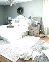 bedroom rug placement living room