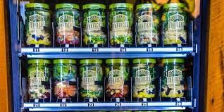 Chicago Salad Vending Machine Mesmerizing Farmer's Fridge Vending Machine Business Insider