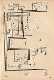 thesamba com type 1 wiring diagrams 1958 alternate diagram
