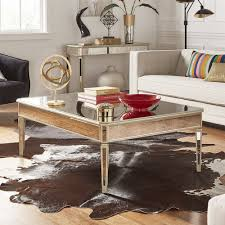 Clara Antique Gold Mirrored Accent Tables by iNSPIRE Q Bold (2-Piece Set: