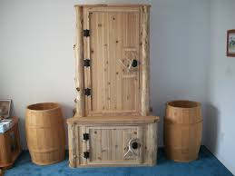 FURNITURE: Attractive Gun Cabinets With Small Wooden Cabinet And ...