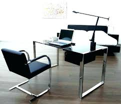 glass top office table glass top office desk office table glass top charming glass top office