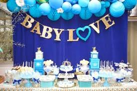 baby shower centerpieces for a boy boy baby shower theme idea by baby shower decorations boy diy