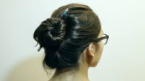 Chopstick Hairstyle how to make a bun without a hair tie 8 steps with pictures 4937 by wearticles.com