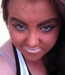 makeup fail photos funny photos hilarious photos