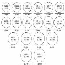 British Ring Size Chart Australian Ring Size Chart Printable Bedowntowndaytona Com