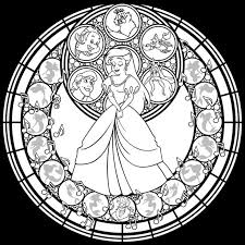 Stained Glass Coloring Pages 9 Images Printable Coloring Page