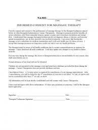 Massage Cancellation Policy Template
