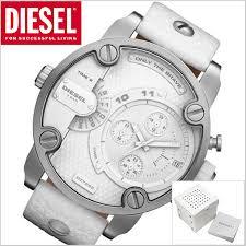 bell field rakuten global market diesel diesel chronograph diesel diesel chronograph watch dual time function little dady little daddy men white dz7265