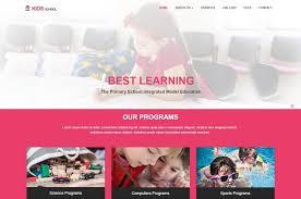 Kids School Website Template 26 Best Free Education Html Website Templates 2019