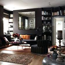 lighting solutions for dark rooms. Dark Living Room With Black Walls Colorful Accessories And Various Textiles Lighting Solutions . For Rooms