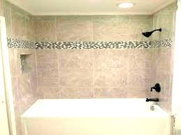 average cost to replace a bathtub install tile shower build luxurious