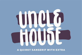 Check out these futuristic fonts if you want a modern design. Uncle House Font Free Download Freedownloadae