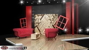 Tv Talk Show Stage Design Talk Show Rtl Croatia 2013 Temma X Tv Video