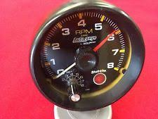 car and truck tachometers auto meter autogage shift lite 3 3 4 8000 rpm tachometer p n